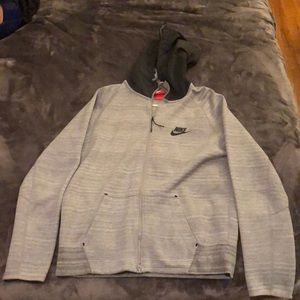 Nike Zip-up Hoodie Large